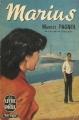 Couverture Trilogie marseillaise, tome 1 : Marius Editions Le Livre de Poche 1946