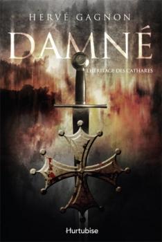 Couverture Damné, tome 1 : L'Héritage des cathares