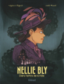 Couverture Nellie Bly : Dans l'antre de la folie Editions Glénat 2021