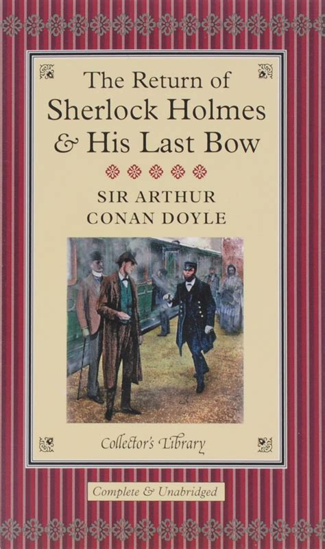 Couverture The Return of Sherlock Holmes & His Last Bow