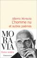 Couverture L'homme nu et autres poèmes Editions Flammarion (Littérature étrangère) 2021