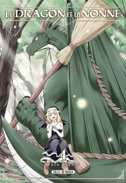 Couverture Le dragon et la nonne, tome 4