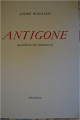 Couverture Antigone Editions Mermod 1958