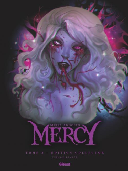 Couverture Mercy (BD), tome 3 : La mine, nos souvenirs et la mortalité