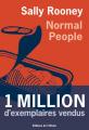 Couverture Normal people Editions de l'Olivier 2021