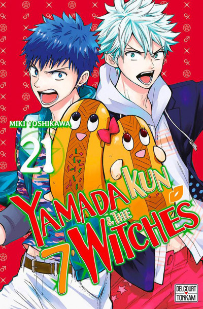 Couverture Yamada kun & the 7 witches, tome 21
