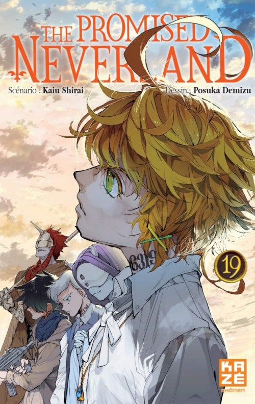 Couverture The Promised Neverland, tome 19