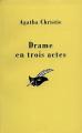 Couverture Drame en trois actes Editions Le Masque 1999