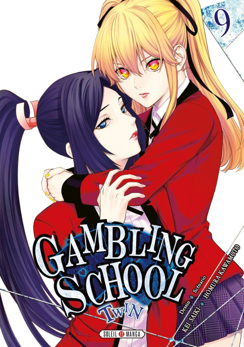 Couverture Gambling School Twin, tome 09