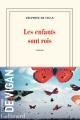 Couverture Les enfants sont rois Editions Gallimard  (Blanche) 2021