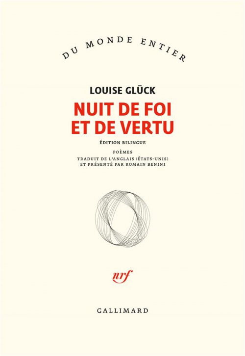 Couverture Faithful and Virtuous Night: Poems