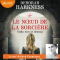 Couverture Le Livre perdu des sortilèges, tome 3 : Le Noeud de la sorcière Editions Audiolib 2021