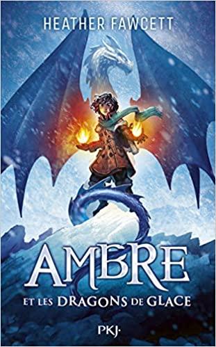 Couverture Ambre et les dragons de glace