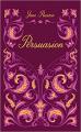 Couverture Persuasion Editions Hauteville 2021