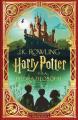 Couverture Harry Potter, illustré (MinaLima), tome 1 : Harry Potter à l'école des sorciers Editions Salamandra 2021