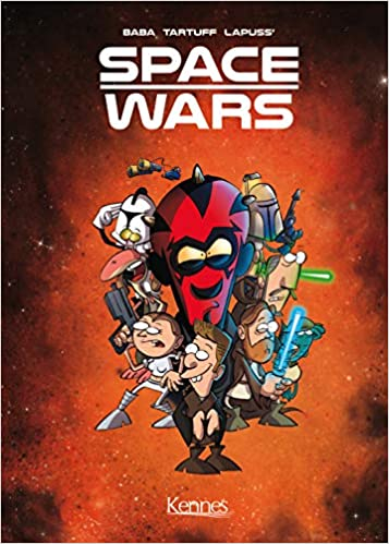 Couverture Space Wars , tome 1