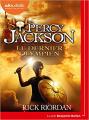 Couverture Percy Jackson, tome 5 : Le dernier olympien Editions Audiolib 2021