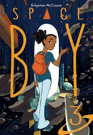 Couverture Space boy, tome 3