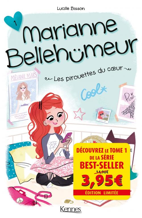 Couverture Marianne Bellehumeur, tome 1 : Les pirouettes du coeur