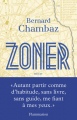 Couverture Zoner Editions Flammarion 2021