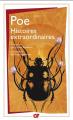 Couverture Histoires extraordinaires Editions Flammarion 2010