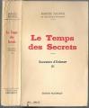 Couverture Souvenirs d'enfance, tome 3 : Le temps des secrets Editions Pastorelly 1960
