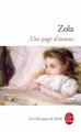 Couverture Une page d'amour Editions Le Livre de Poche (Classiques) 2020