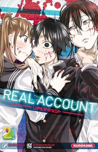 Couverture Real account, tome 21