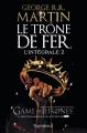 Couverture Le Trône de fer, tome 02 : Le Donjon rouge Editions J'ai Lu 2017