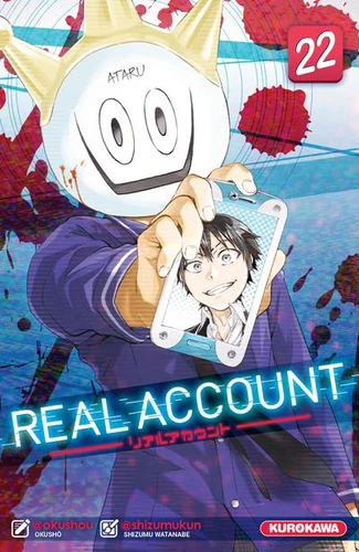 Couverture Real account, tome 22