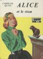 Couverture Alice et le vison Editions Hachette (Bibliothèque Verte) 1975