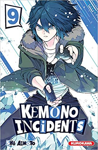 Couverture Kemono Incidents, tome 09