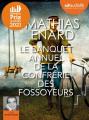 Couverture Le Banquet annuel de la Confrérie des fossoyeurs Editions Audiolib 2021