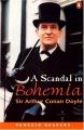 Couverture Sherlock Holmes : Un scandale en Bohème Editions Penguin books (Readers) 1999