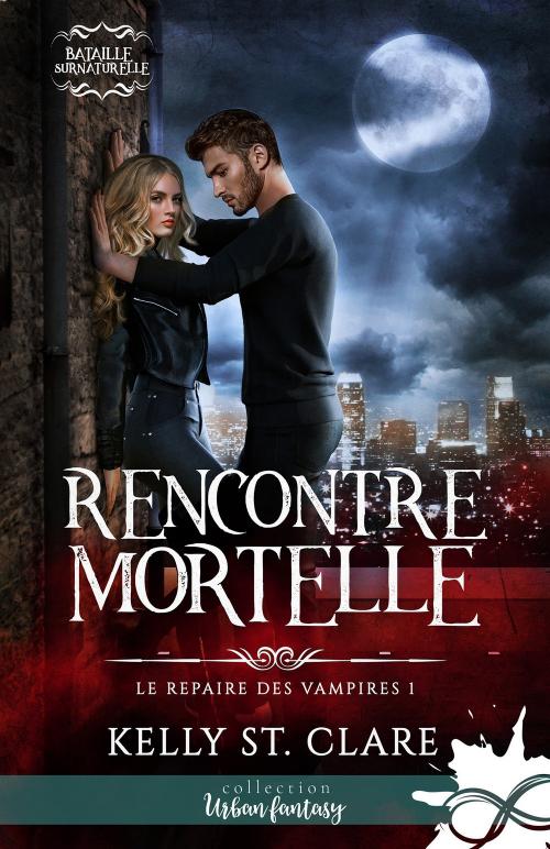Couverture Le repaire des vampires, tome 1 : Rencontre Mortelle