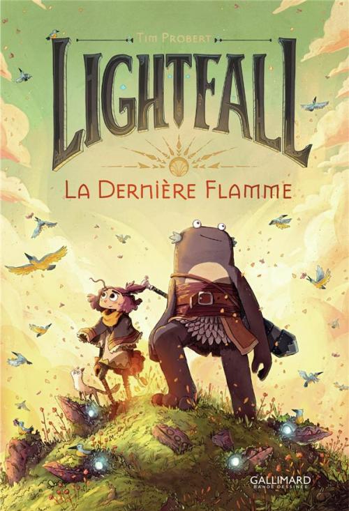 Couverture Lightfall, tome 1 : La dernière flamme