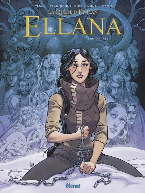 Couverture La quête d'Ewilan : Ellana, tome 6 : Rencontres