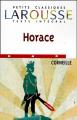 Couverture Horace Editions Larousse (Petits classiques) 1999
