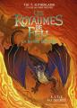 Couverture Les Royaumes de Feu (BD), tome 4 : L'île au secret Editions Gallimard  (Jeunesse) 2021