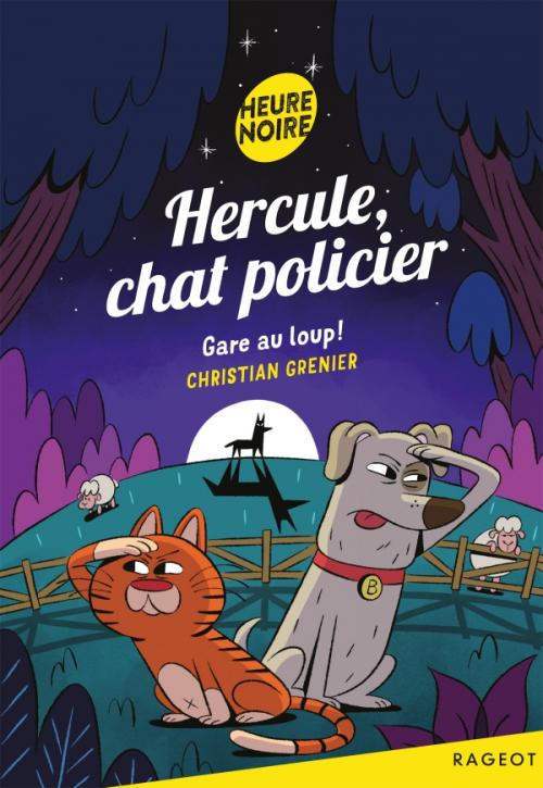 Couverture Hercule, chat policier, tome 8 : Gare au Loup