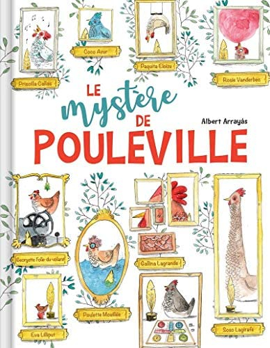 Couverture Le mystère de Pouleville
