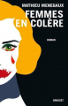 Couverture Femmes en colère Editions Grasset 2021