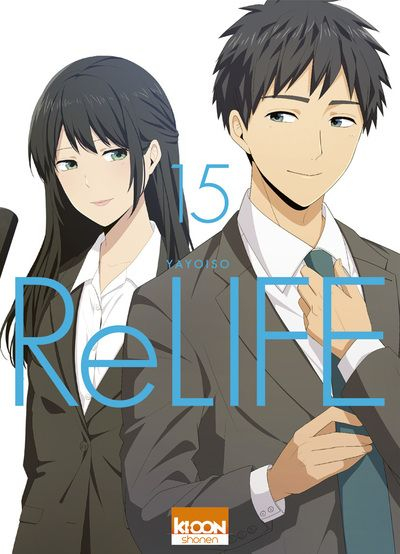 Couverture ReLIFE, tome 15