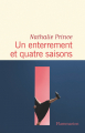 Couverture Un enterrement et quatre saisons Editions Flammarion 2021