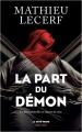 Couverture La Part du Démon Editions Robert Laffont (La bête noire) 2021