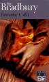 Couverture Fahrenheit 451 Editions Folio  (SF) 2015