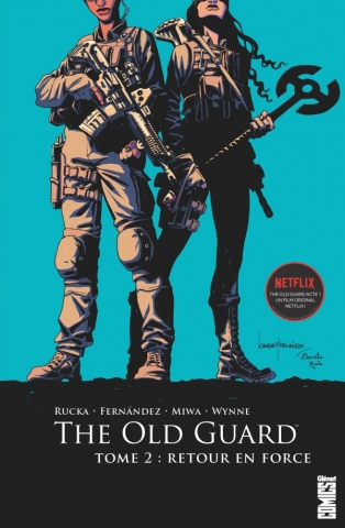 Couverture The Old Guard, book 2: Force Multiplied