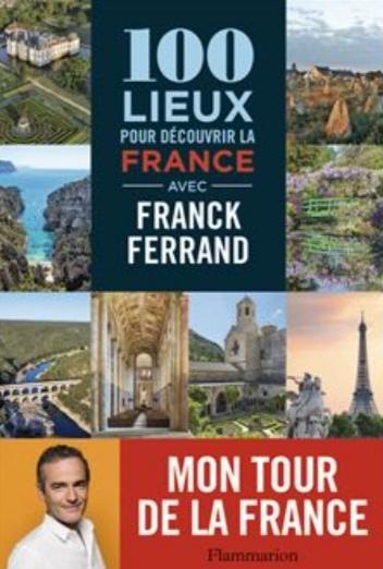 Couverture 100 lieux pour découvrir la France