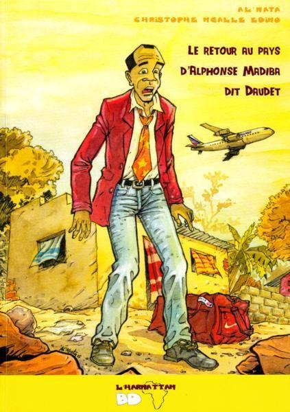 Couverture Les Tribulations d'Alphonse Madiba dit Daudet, tome 1 : Le Retour au pays d'Alphonse Madiba dit Daudet