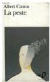 Couverture La Peste Editions Folio  1972
